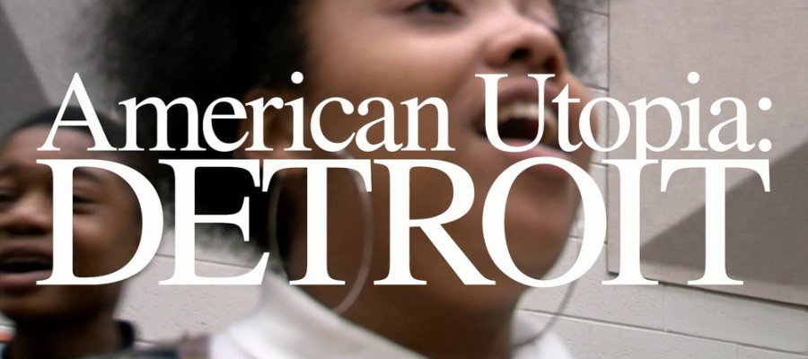 A Still form the short video American Utopia: Detroit which I took from this website: https://www.reasonstobecheerful.world/