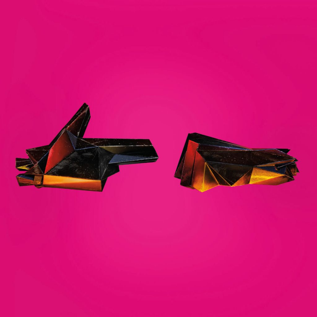 Run the Jewels 4 Album cover downloaded from their site at runthejewels.com